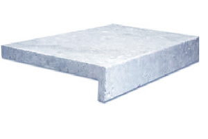 tumbled and unfilled silver travertine french pattern price $59pc