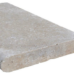 Ivory Travertine Bullnose Coping Tile