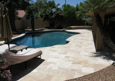 Classic travertine from Denizli turkey french pattern