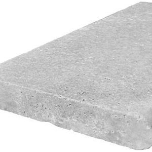 Silver Travertine Bullnose Coping Tile