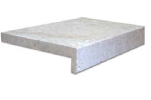 tumbled and unfilled ivory travertine price $49pc