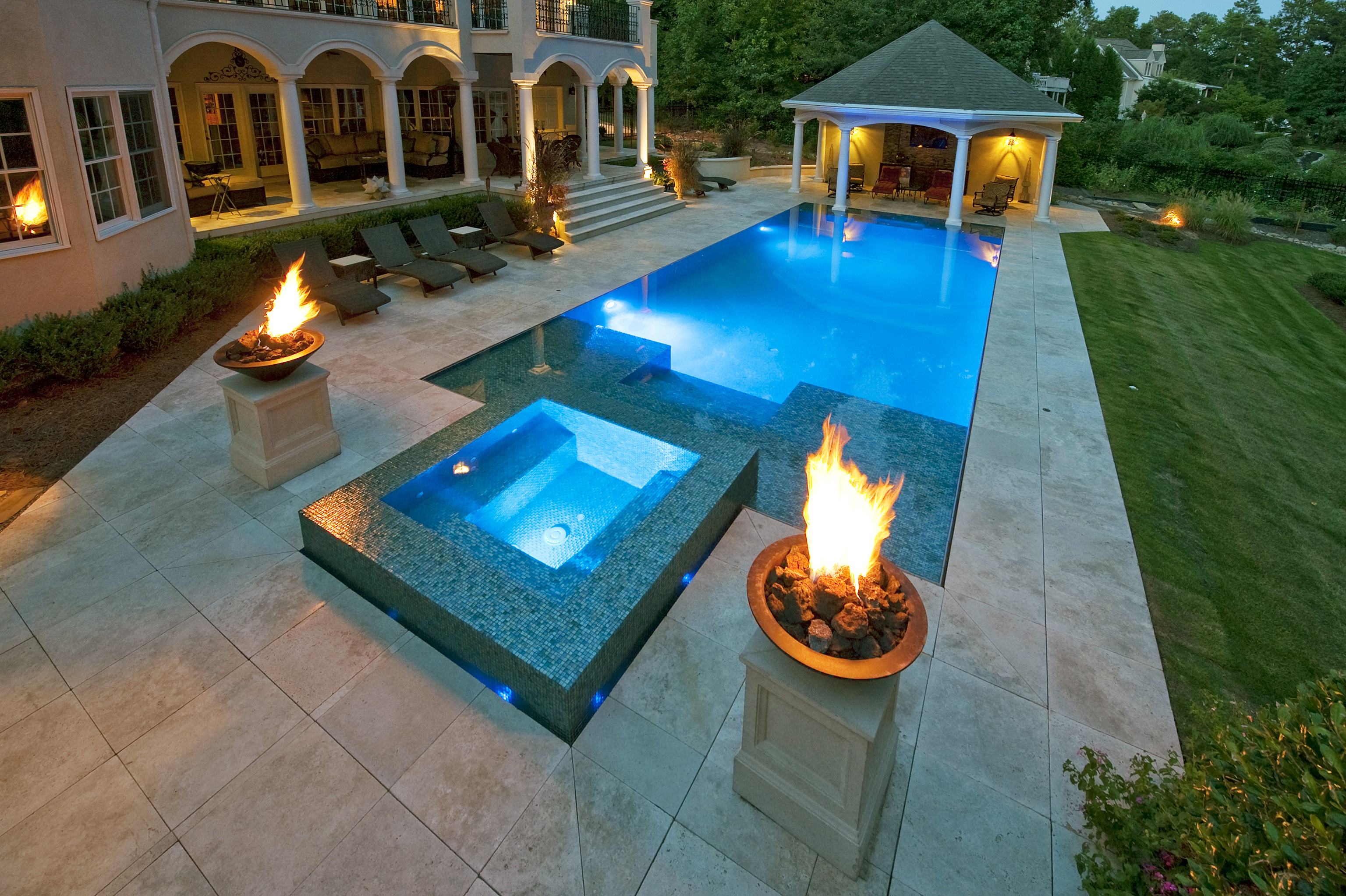 Travertine Tile Pool Noce Travertine Bullnose Pool Coping Tiles Tumbled And Unfilled