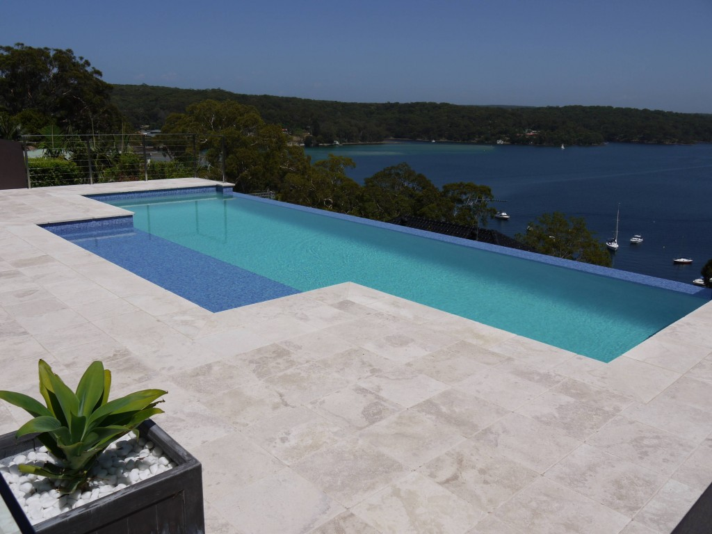 Melton Pool Coping Tiles Pavers - MELBOURNE TRAVERTINE TILES ...