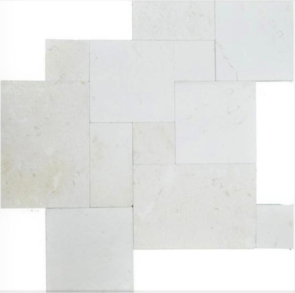 White Travertine Tiles